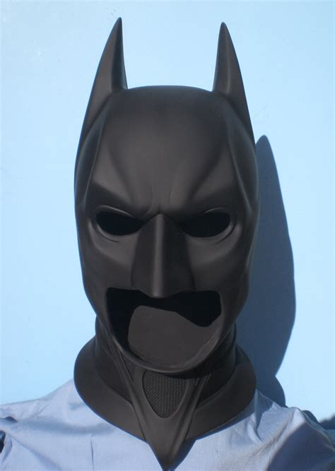Halloween 5 Cast Michael Myers by Batman Dark Knight Cowl Mask Prop Replica