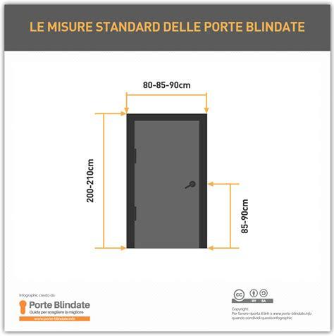 porte interne misure standard misure standard porte blindate quali sono 2019