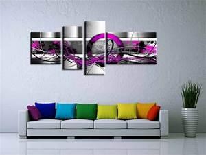 Decoration Murale Tableau : tableau peinture decoration murale ~ Teatrodelosmanantiales.com Idées de Décoration