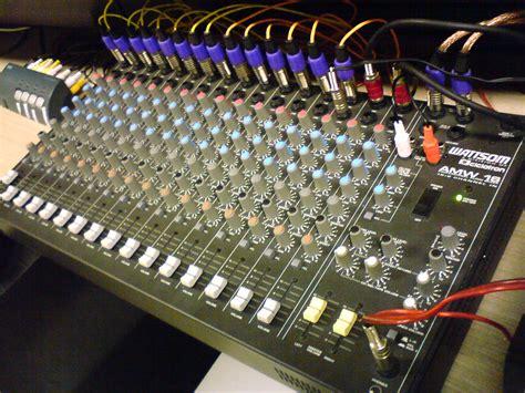 mixer console mixing console wiki everipedia