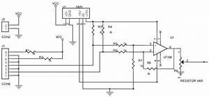 Diagrama El U00e9trico Do Circuito Do Sensor