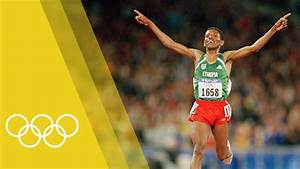 Haile Gebrselassie - 10,000m Olympic Champion at Sydney ...