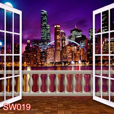 Photography Backdrops 10x10 by Outdoor Cityscape 10x10 Ft Cp Photo Scenic Background