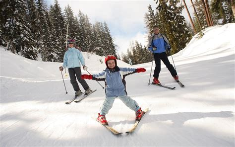 the best family ski resorts telegraph