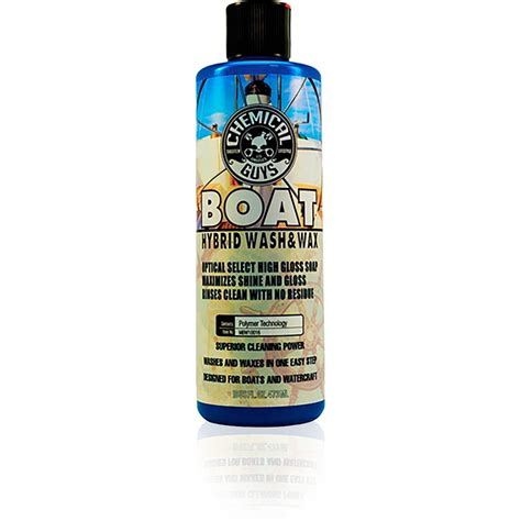 Boat Wax Test by Chemical Guys Marine And Boat Hybrid Wash And Wax