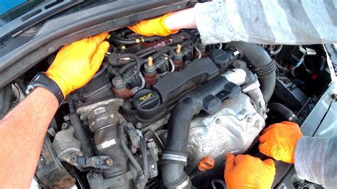 bleed  prime  diesel fuel filter   citroen