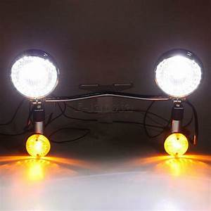 Passing Driving Auxiliary Lights Fit For Honda Vtx 1300