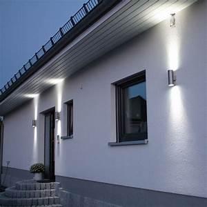 Aussen Hauswand Deko : ber ideen zu au enbeleuchtung auf pinterest modernes ferienhaus moderner dekor f r ~ Sanjose-hotels-ca.com Haus und Dekorationen