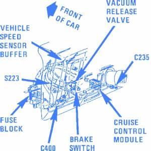 Chevrolet Capri 1989 Electrical Circuit Wiring Diagram