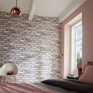 Papier Peint Trompe L Oeil Brique : un papier peint trompe l 39 oeil ~ Premium-room.com Idées de Décoration