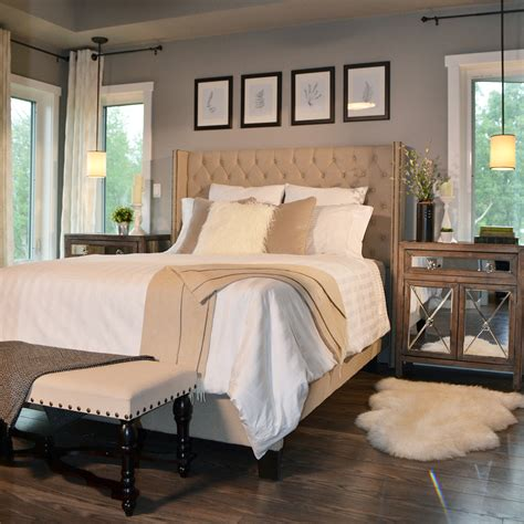 glam master bedroom how to create a cohesive look with thrifty finds the Rustic