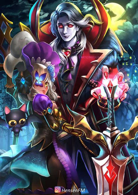 mobile legend alucard alucard viscount mobile legends fanart hensenfm by