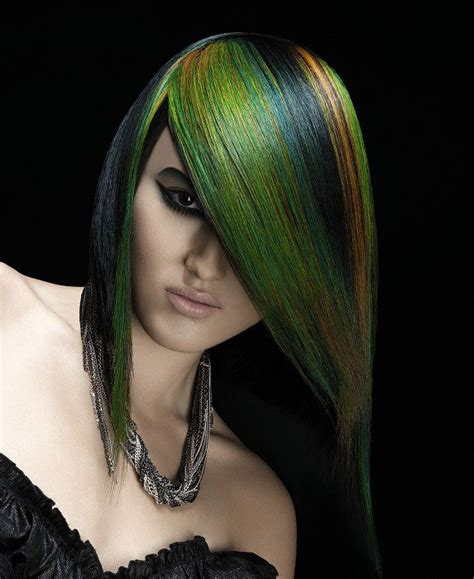 Cool Color Hairstyles by Cool Multi Chromatic Hair Color Ideas For Fall 2012