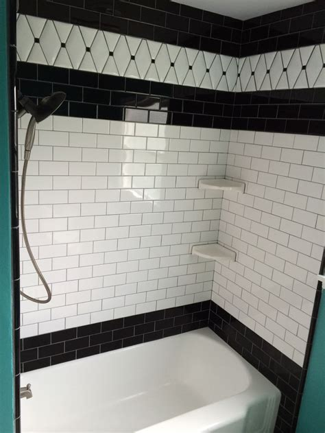 Tile Expo Inc Anaheim by Black And White Subway Tile Black Bullnose Trim And