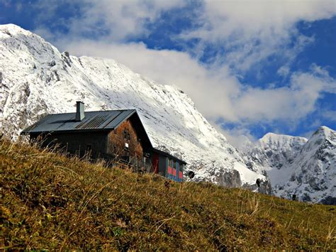 Herbstwanderung Zum Carlvonstahl Haus Berchtesgadener