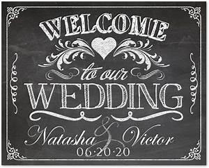 vintage framed welcome wedding sign ideas vintage With chalkboard wedding sign template