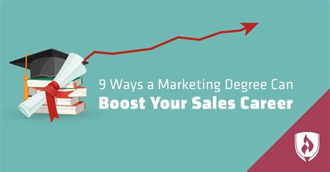 marketing degree 9 ways a marketing degree can boost your sales career
