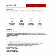 Chef Resume Template 12 Free Word Excel PDF PSD Format Download Head Chef Resume 8 Head Chef Cover Letter 8 Chef Resume Template Resume Templates Resume And Executive Chef Chef Resume Italian Chef Resume Sample Sous Chef Resume Sample Resume