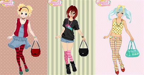 Dress Up The Adorable Anime School Chick
