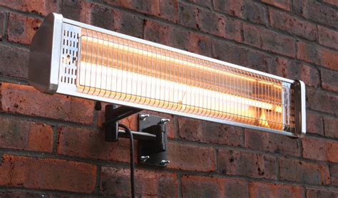 1 5kw wall mounted electric halogen patio heater single