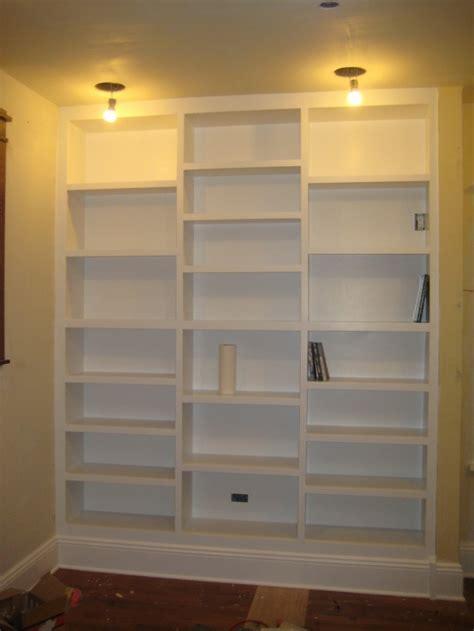 built in bookshelves diy built in bookcases living room dining room makeover pinterest