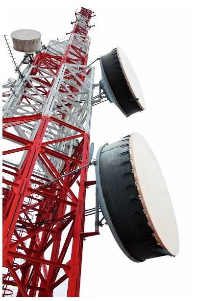 Tower Transparent Communication Installation Telecom Microwave Link