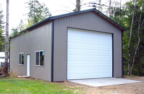 24 X 40 Garage by Gallery Sound Building Systems