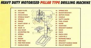 Pillar Drill Machine, Bench Drill Machine, Heavy Duty ...