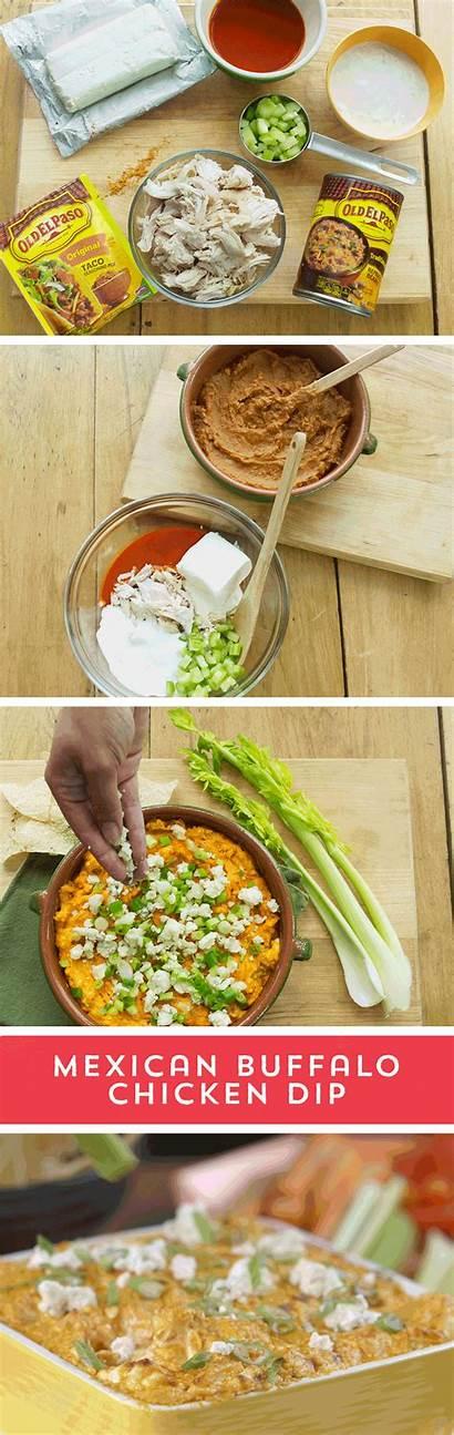 Dip Mexican Buffalo Chicken Recipes Cheese Taco
