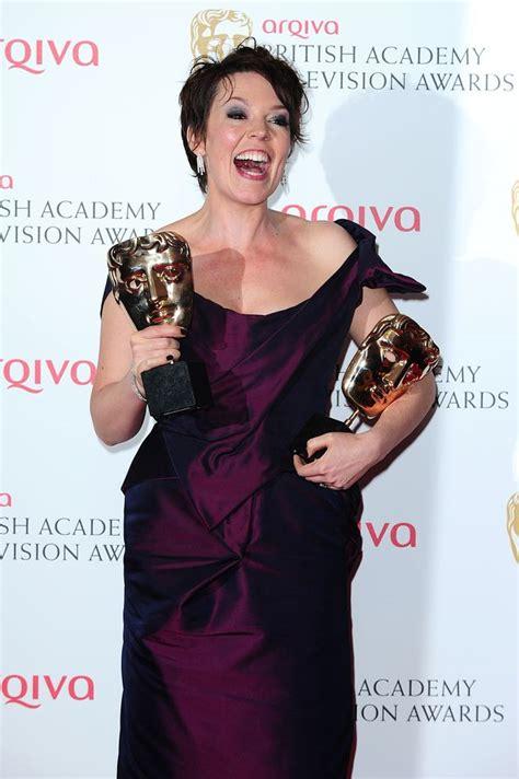 Christian Bale Olivia Coleman Celebrate British