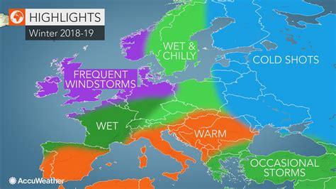 accuweathers europe winter forecast