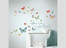 RoomMates 5 in x 115 in Lisa Audit Butterfly Quote 28