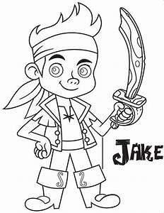 Jake And The Neverland Pirates Drawing - AZ Coloring Pages