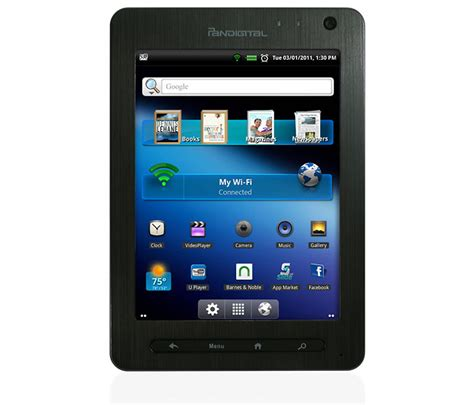 android tablet best buy pandigital android tablet arrives at best buy for 169 99