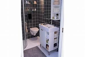 une petite salle de bains optimisee photo dr element With lavabo petite salle de bain