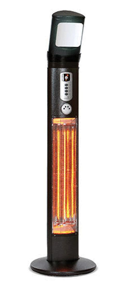 apollo 3kw 12000btu carbon fibre electric patio heater