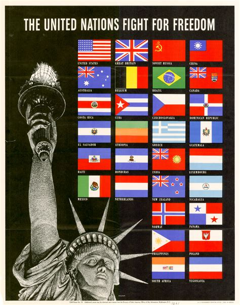 fight for freedom file united nations fight for freedom poster 1942 o 498304