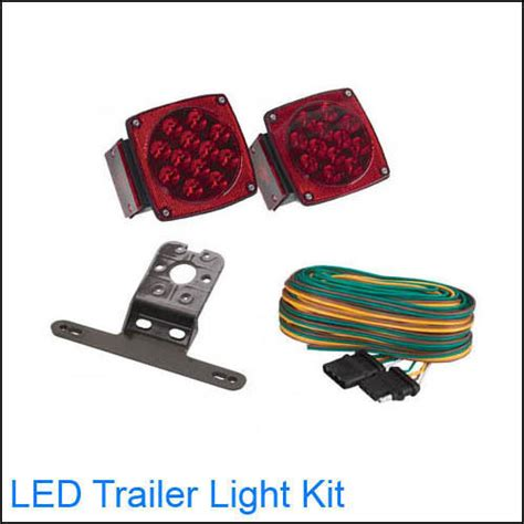 led boat trailer light kit submersible 12 volt led trailer towing light kit for boat