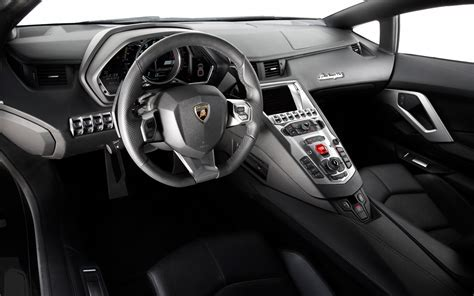 Lamborghini Aventador Interior   Lamborghini 2016