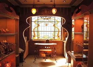 art deco interior features With art deco interior features