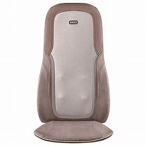 homedicsr quad shiatsu massage cushion with heat bed With bed bath and beyond back massager