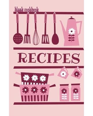 Memorial Day Shopping Deals On Blank Cookbook Recipes