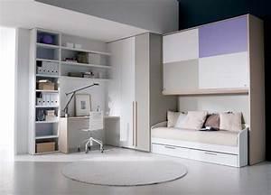 White Teenage Girl Study Room - HomesCorner.Com