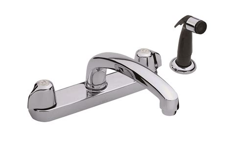 gerber viper kitchen faucet gerber 174 classics two handle kitchen faucet with spray