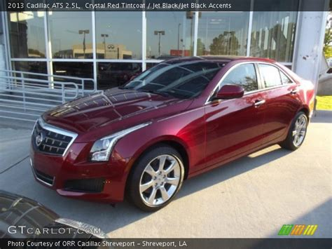 cadillac crystal red tintcoat