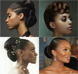 African American Natural Hair Updo Ponytail Hairstyles