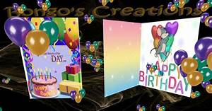 Second Life Marketplace - -bc- Musical Birthday card v1 ...