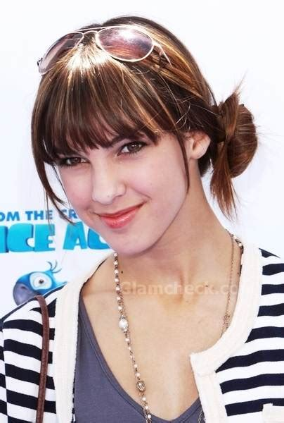 denyse tontz sports bangs  side knot  rio la premiere