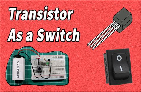 switch transistor bc547 breadboard use maker circuits datasheet bc557 projects applications 74ls47 segment bcd decoder ic display