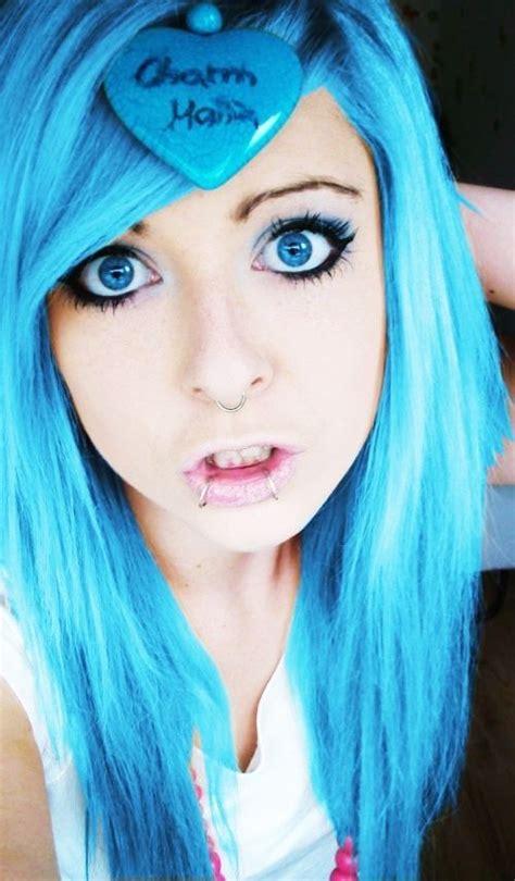 images  hair  pinterest scene hair blue hair  cute hairstyles